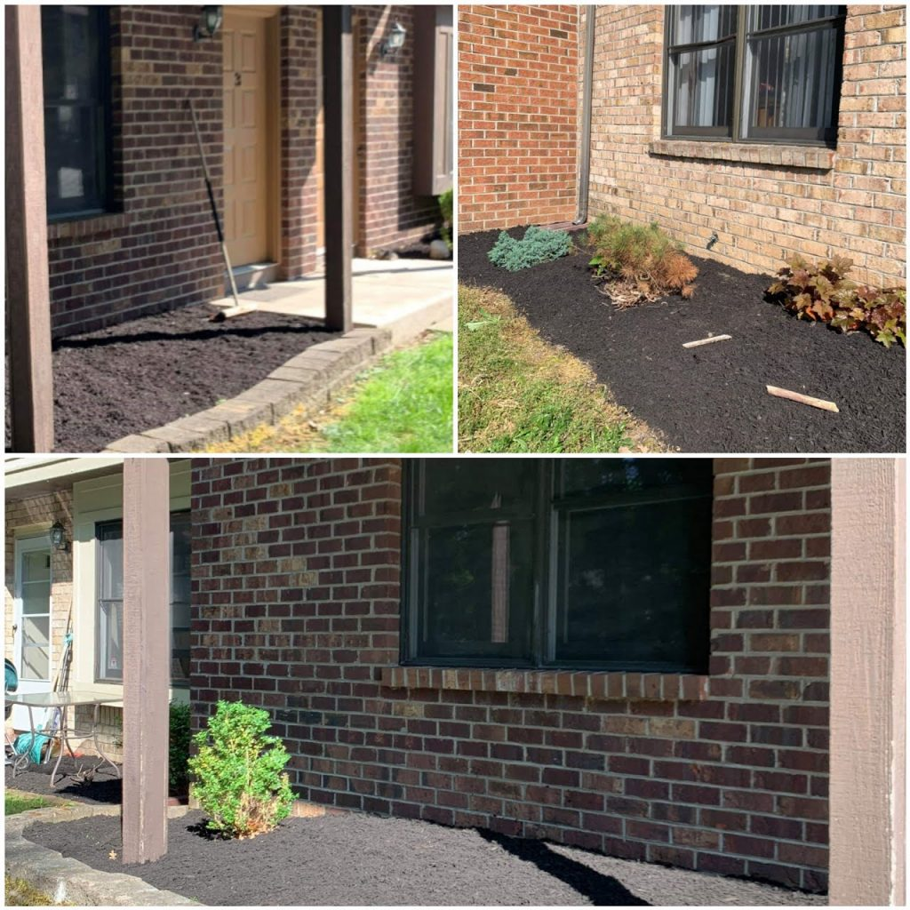 Commercial landscaping, commercial masonry